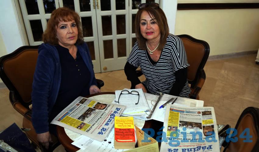 En Sanborns Francia departieron Martha Rodríguez Romo y Dolly de Anda