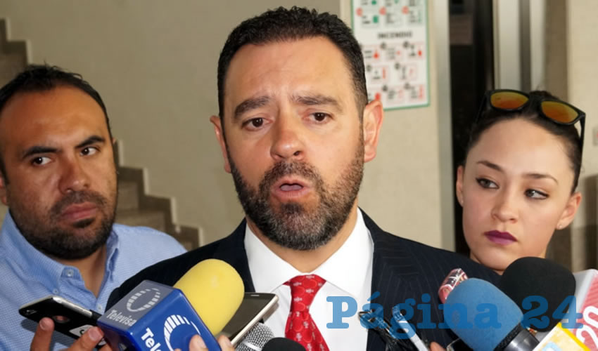 Alejandro Tello Cristerna, gobermador de Zacatecas (Foto: Archivo Página 24)