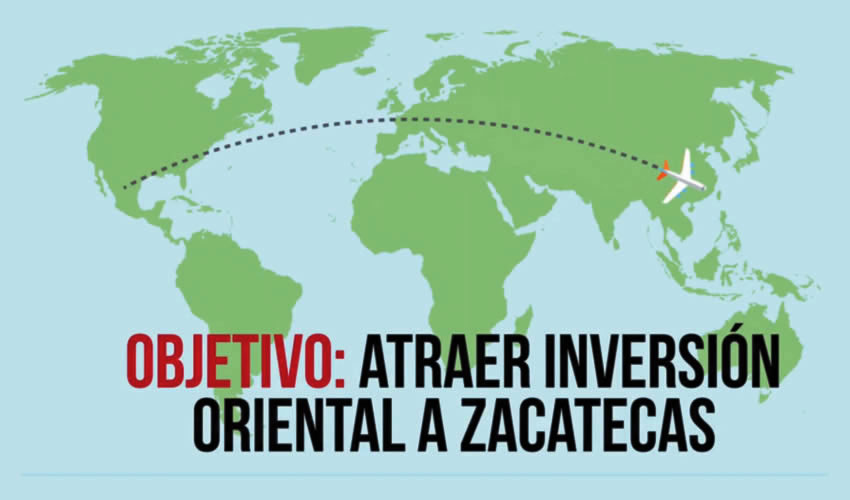 De Zacatecas a la China, directo y sin escalas