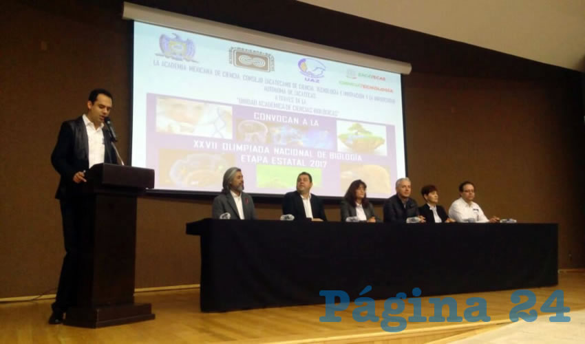 UAZ Lleva a Cabo Fase Estatal de la Olimpiada Nacional de Biología
