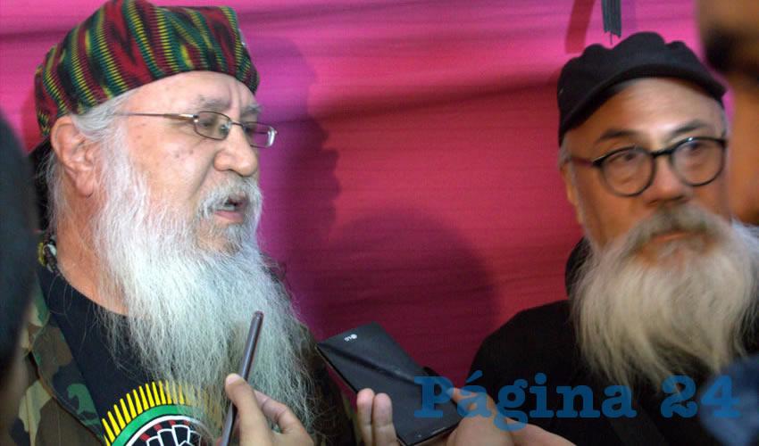 Los Hermanos Pedro y Manuel Apocada, miembros fundadores de la banda de reggae mexicano Antidoping (Foto Manuel Medina Castro)