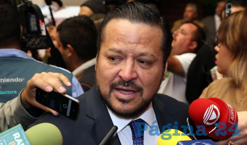 Fernado Herrera Ávila, senador de la República