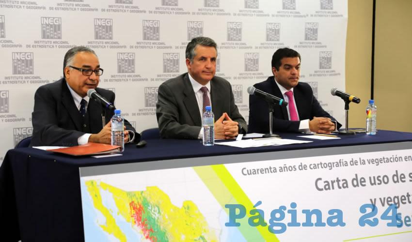 El INEGI presentó la Carta del uso de Suelo y Vegetación serie VI (Foto: Eddylberto Luévano Santillán)