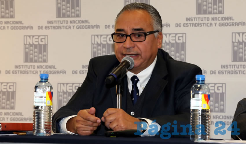 Carlos Alberto Castañón Gaytán, representante Fundación Pinita (Foto: Eddylberto Luévano Santillán)