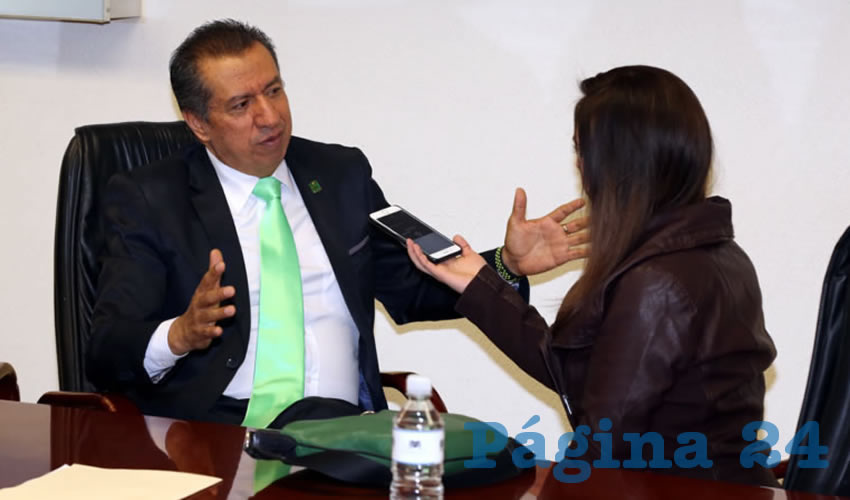 Sergio Augusto López Ramírez, legislador local (Foto: Eddylberto Luévano Santillán)