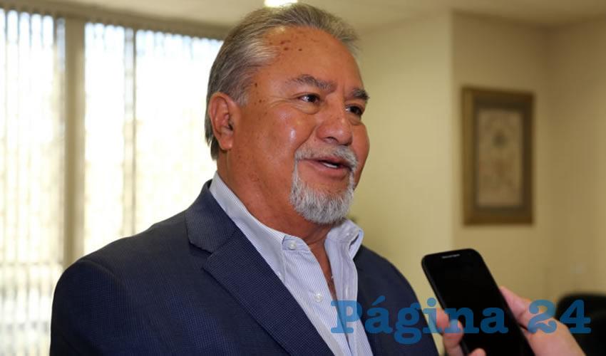 Pedro Gutiérrez Romo, presidente del Consejo Coordinador Empresarial (Foto: Eddylberto Luévano Santillán)