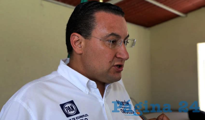 Paulo Martínez López, presidente estatal del PAN