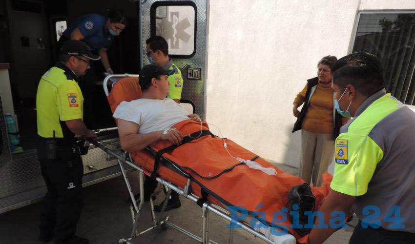Sergio Muro fue internado en el Hospital Tercer Milenio