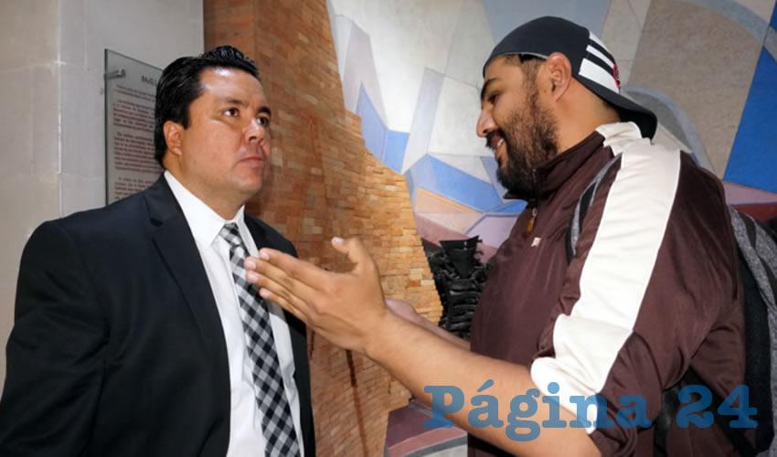 Omar Carrera cuestionó si empresarios chinos vendrán a Zacatecas con la inseguridad imperante (Foto Merari Martínez Castro)