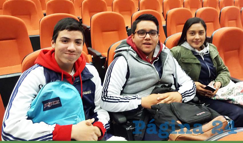 Cuatro de los seis estudiantes seleccionados para integrar la delegación estatal pertenecen al Colegio
