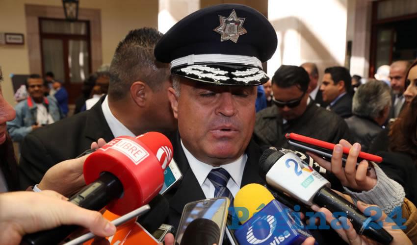 Antonio Martínez Romo, titular de la SSPM (Foto: Eddylberto Luévano Santillán)