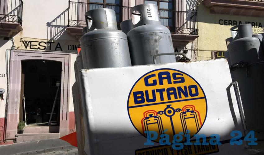Los precios del gas por los cielos (Foto Cristo González)