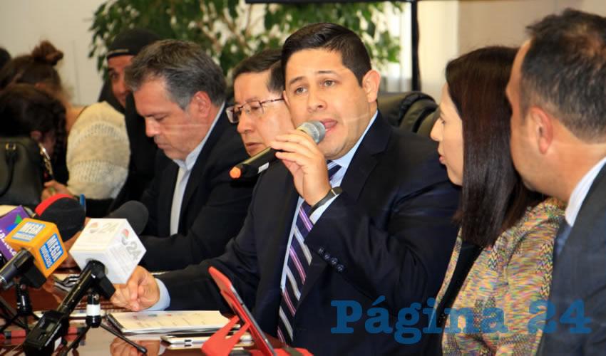 Jorge Miranda Castro, titular de la Secretaría de Finanzas (Sefin) (Foto: Rocío Castro Alvarado)