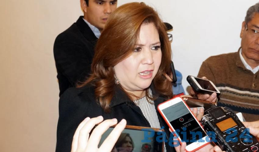 Fabiola Gilda Torres Rodríguez, secretaria general de Gobierno (Foto Merari Martínez Castro)