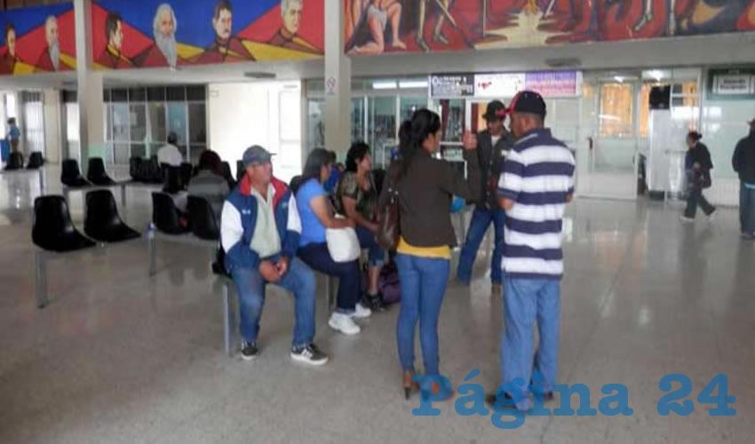 En las Próximas Semanas se Espera Repunte de Pasajeros en la Central de Autobuses de Fresnillo