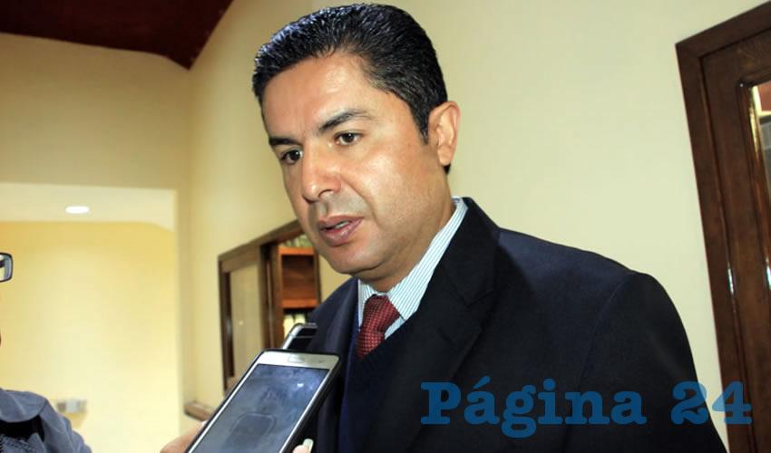 Enrique Flores Mendoza (Foto: Rocío Castro Alvarado)