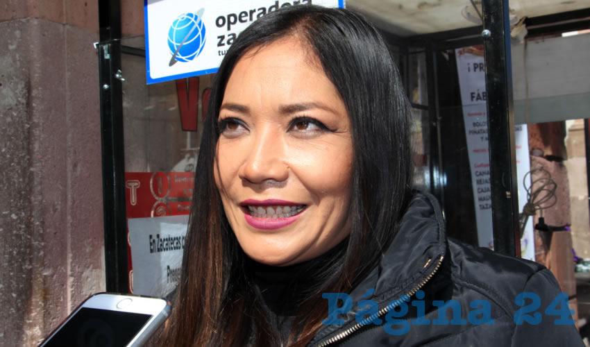 Mónica Isabel Ramírez, servidora turística: En comparación al año pasado, el turismo ha bajado en un 50 por ciento, y que esto es muy notorio (Foto: Rocío Castro Alvarado)