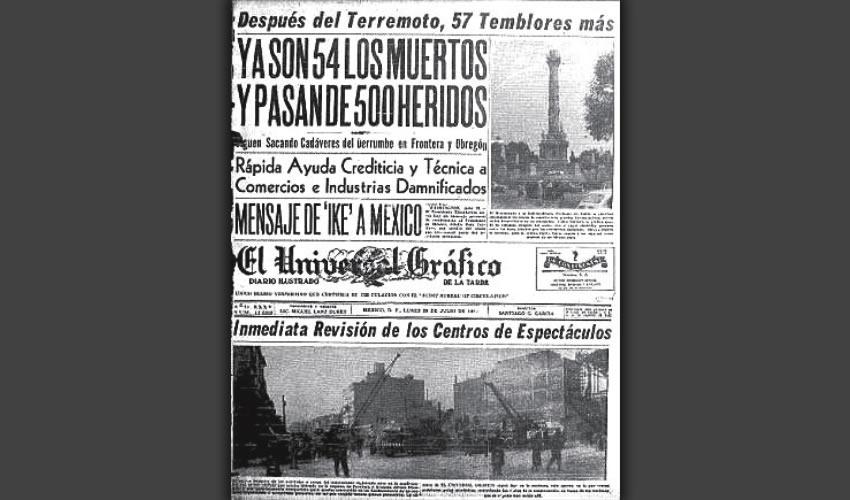 Fue a finales de agosto de 1957 cuando llegué a esta apacible ciudad. Ese mismo año, el 28 de julio, me había asombrado y conmovido en grado extremo, una tragedia de proporciones nunca antes vistas, allá en la ciudad de México