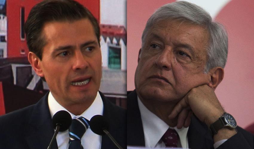 """Enrique Peña Nieto ...¿Ley de Seguridad Interior?.. Andrés Manuel López Obrador ...""""roba niños y se los come""""..."""