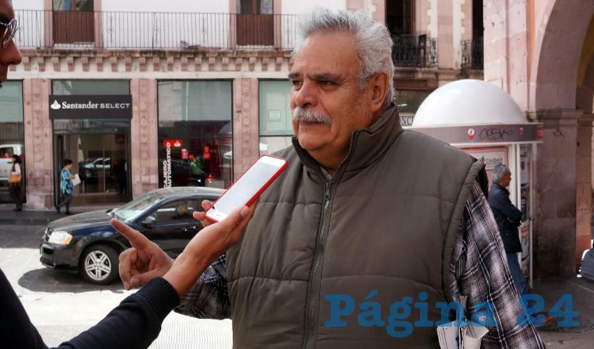 José Luis Medina Lizalde, diputado local por el partido político Movimiento de Regeneración Nacional (Morena) (Foto: Archivo Página 24)