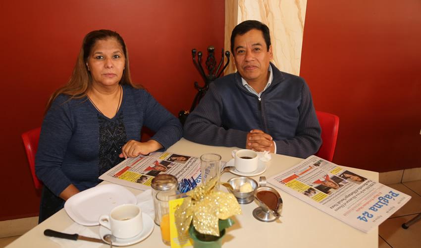En el Mitla compartieron el pan y la sal Beatriz Martínez Briones y Jesús García Nevárez