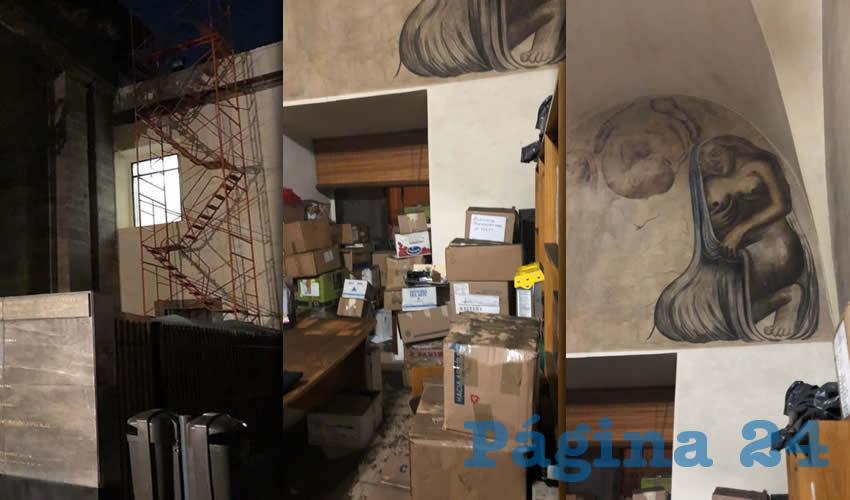 Incendio en la Octavio  Paz fue provocado: UdeG