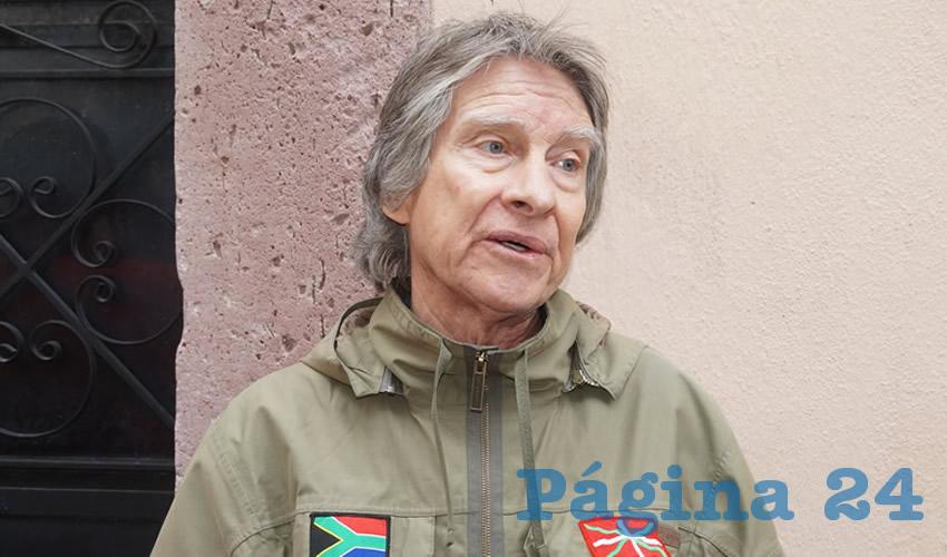 Rodolfo García Zamora, presidente de la Red de Organizaciones Ciudadanas en Defensa del Centro Histórico de Zacatecas, enfatizó que esto reivindica el gran divorcio entre los gobernantes con los ciudadanos (Foto: Archivo Página 24)