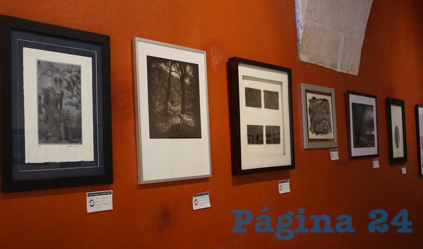 Esta exposición, se encuentra en exhibición en el interior del Estudio Galería, ubicada en la Plazuela Goitia, del centro histórico de la capital zacatecana, y el acceso es totalmente gratuito al público (Foto Merari Martínez Castro)
