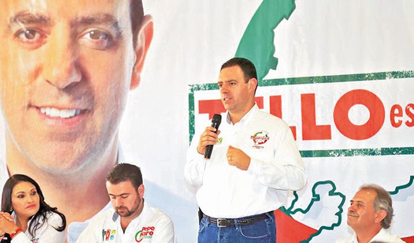Fresnillo, Zac.- 6 de abril de 2016: hoy, miércoles 3 de enero de 2018, el gobernador Alejandro Tello volvió a reciclar sus falsas promesas de aquel 6 de abril de 2016, creyendo que los fresnillenses no tienen memoria.