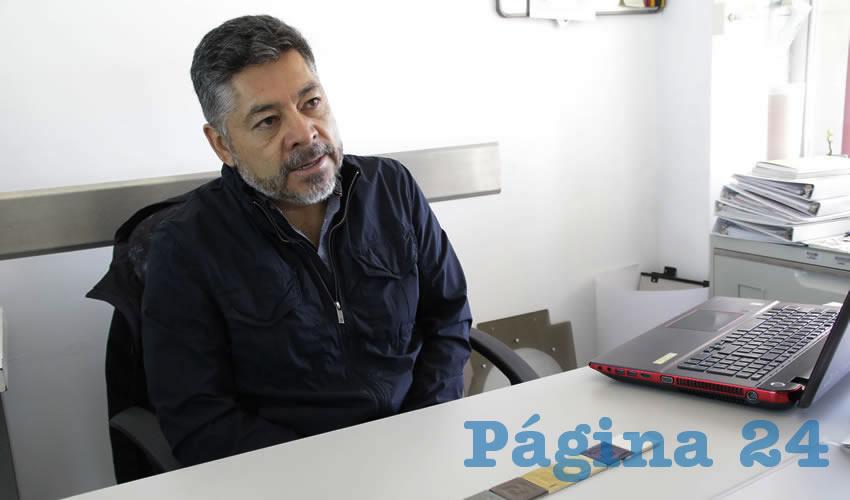 Sergio Ruiz García, profesor investigador de la UAA