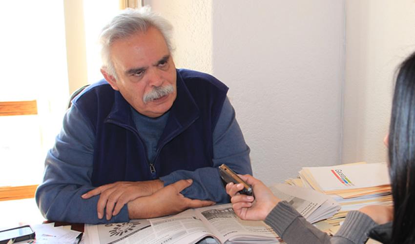 José Luis Medina Lizalde, diputado local: Las Unirse no han cumplido ninguna función de las que habían anunciado, y considera que han sido recursos humanos, materiales, y financieros desperdiciados (Foto Rocío Castro)