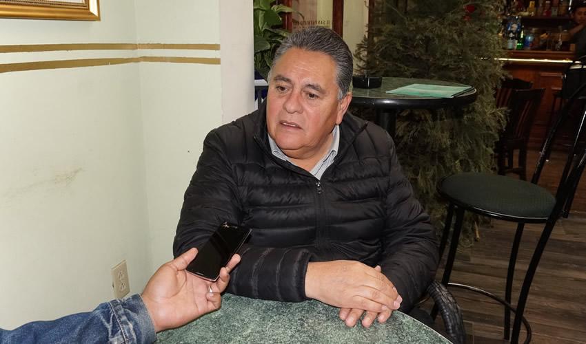Arturo Ortiz Méndez, dirigente estatal del Partido de la Revolución Democrática (PRD): Es grave la inseguridad en Zacatecas (Foto Merari Martínez Castro)
