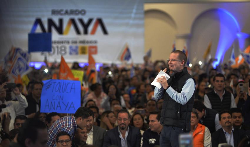 Ricardo Anaya dijo que José Antonio Meade es la continuidad del fracaso de la guerra contra el narco (Foto: Archivo/Cuartoscuro)