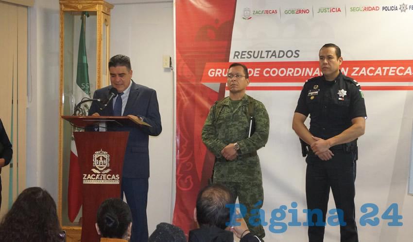 """Ismael Camberos Hernández: """"La policía no está dejando que los grupos de la delincuencia organizada afecten a la ciudadanía"""""""