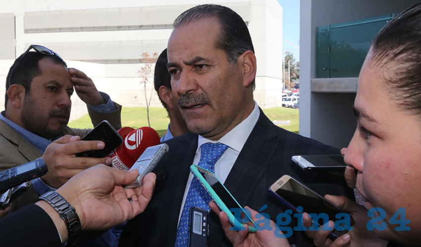 Martín Orozco Sandoval, gobernador del Estado (Foto: Eddylberto Luévano Santillán)