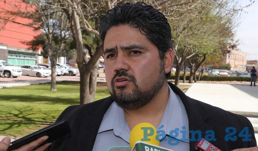Iván Sánchez Nájera, legislador local (Foto: Eddylberto Luévano Santillán)