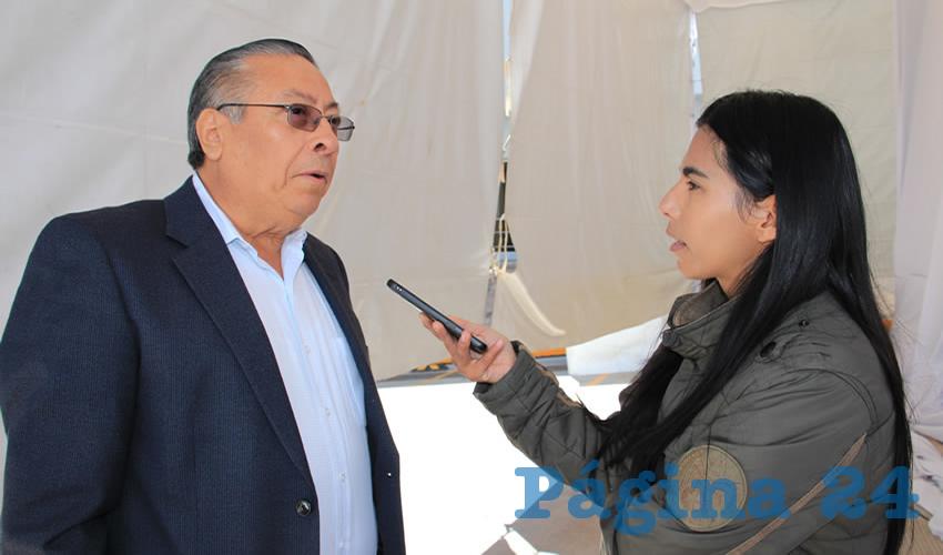 Adolfo Yañez Rodríguez, delegado estatal de la Secretaría de Trabajo y Previsión Social (Stps) (Foto Rocío Castro)