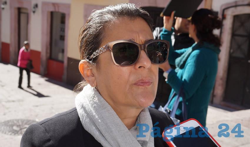 Gema Mercado Sánchez, titular de la Secretaría de Educación en Zacatecas (Seduzac) (Foto Archivo Página 24)