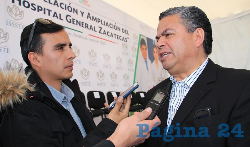 Javier Mendoza Villalpando (Foto: Rocío Castro Alvarado)