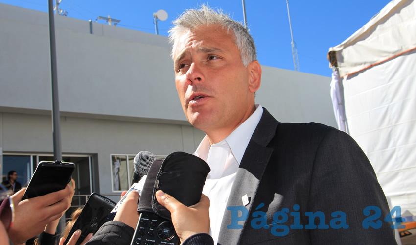 Sergio Zertuche Romero, delegado del Instituto Mexicano del Seguro Social (IMSS) (Foto Rocío Castro)