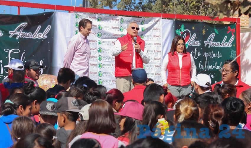 Senador Miguel Romo, Cerca de los Ciudadanos