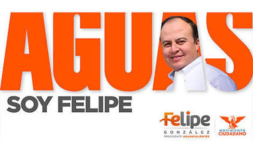 """Felipe González Ramírez ...""""soy Felipe"""", no había duda..."""