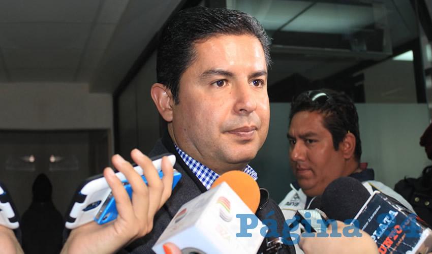 Enrique Flores Mendoza, presidente municipal de Guadalupe (Foto: Archivo Página 24)