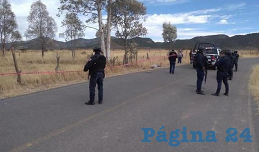Ejecutan a un hombre en San Juan de los Hornillos, y dejan a su hijo, un niño de 13 años de edad, mal herido (Foto: Cortesía)