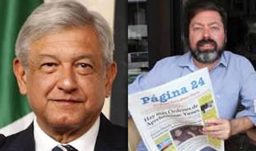 Andrés Manuel López Obrador ...en caballo de hacienda... Manuel Apendinni Carrera ...le llueven denuestos...