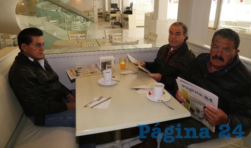 En el restaurante Del Centro almorzaron Herminio Ventura Rodríguez, Abelardo Espartaco Ovalle Peña y Juan Francisco Ovalle Peña