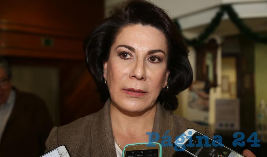 Lorena Martínez Rodríguez, precandidata del PRI al Senado de la República
