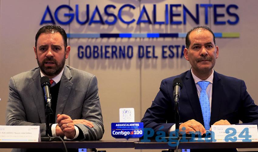 """Alejandro Tello en Aguascalientes: """"Todos tenemos una responsabilidad porque ese delincuente es un ser humano como ustedes y como yo, que tiene una familia, y que en determinado momento perdió el rumbo y los valores, pero es una parte que estamos haciendo, un tema grande de prevención"""""""