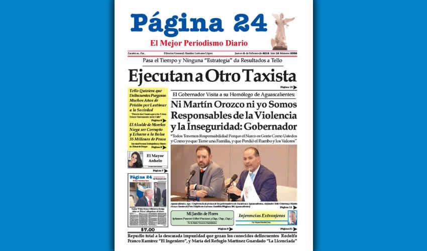 """Las contradicciones del gobernador Alejandro Tello: """"No somos responsables de la violencia y la inseguridad""""; luego se conduele de los delincuentes y termina diciendo que los quiere ver en prisión por muchos años"""