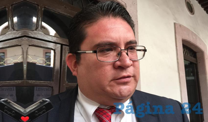Rubén Ibarra Reyes, secretario general de la Universidad Autónoma de Zacatecas (UAZ) (Foto Archivo Página 24)